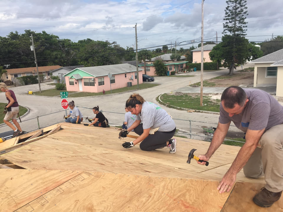 HABITAT FOR HUMANITY OF SOUTH PALM BEACH COUNTY BUILD DAY